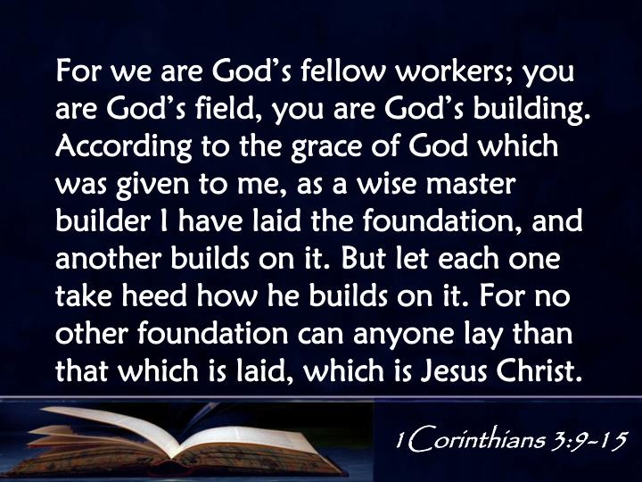 1Corinthians 3:9-15