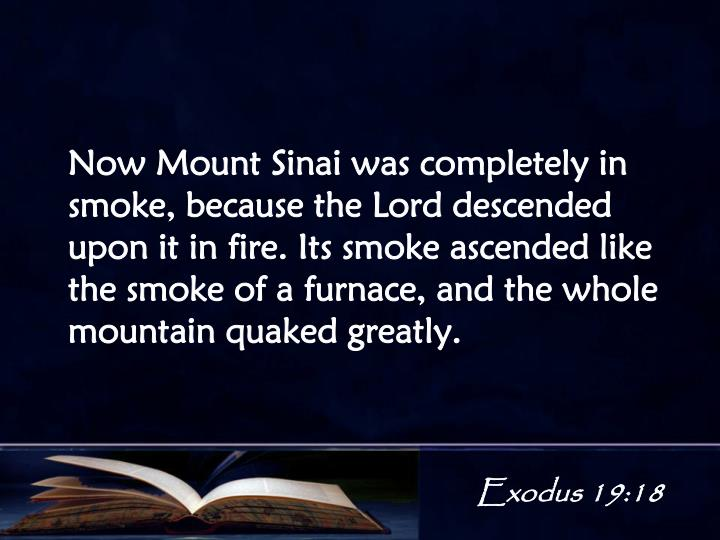 Exodus 19:18