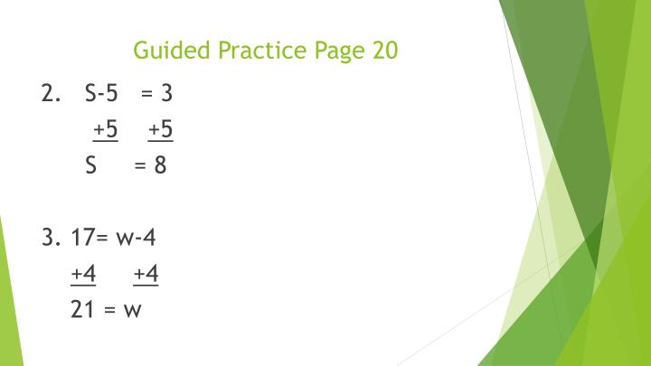 Guided Practice Page 20