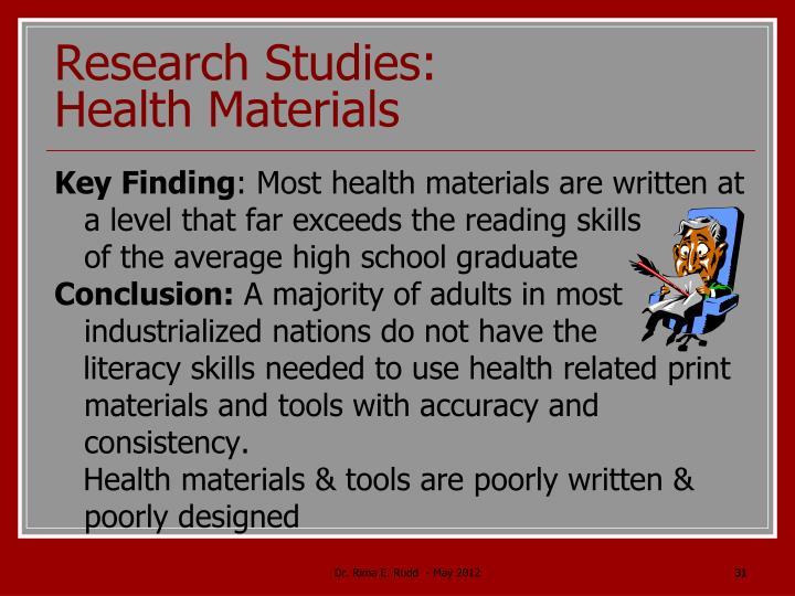 Research Studies: