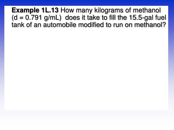 Example 1L.13