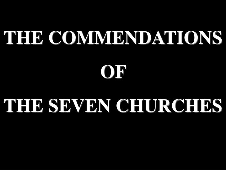 THE COMMENDATIONS