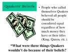 quakers beliefs