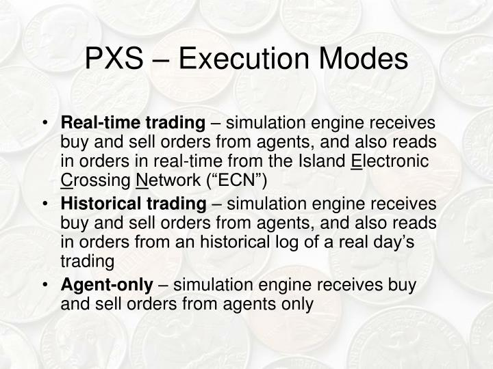 PXS – Execution Modes