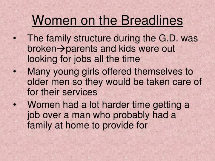 Women on the Breadlines