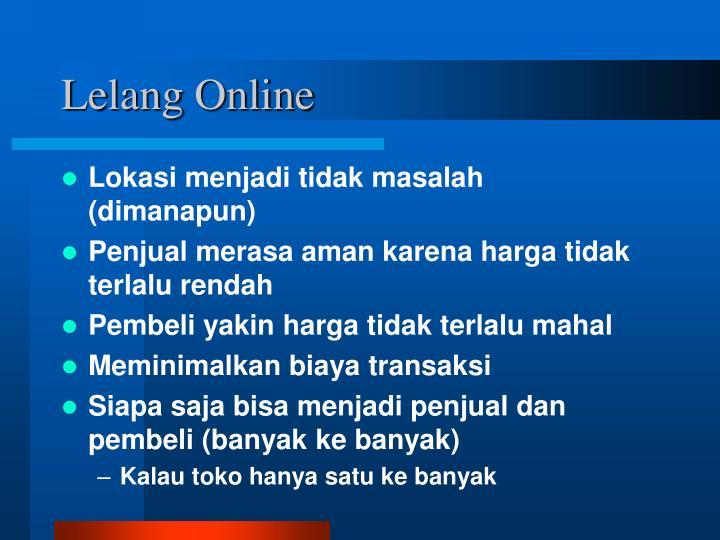 Lelang Online