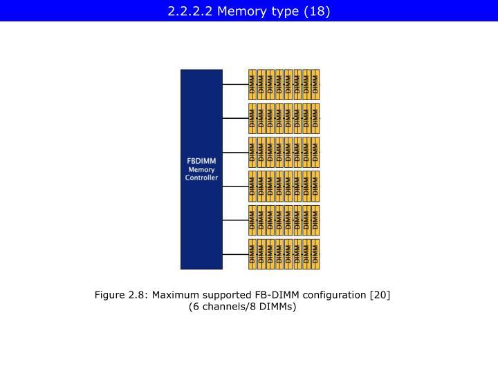 2.2.2.2 Memory type (18)