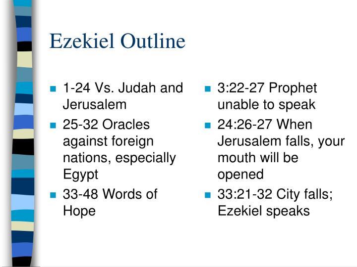1-24 Vs. Judah and Jerusalem