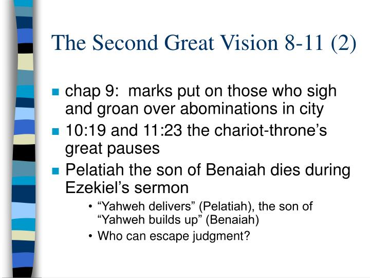 The Second Great Vision 8-11 (2)