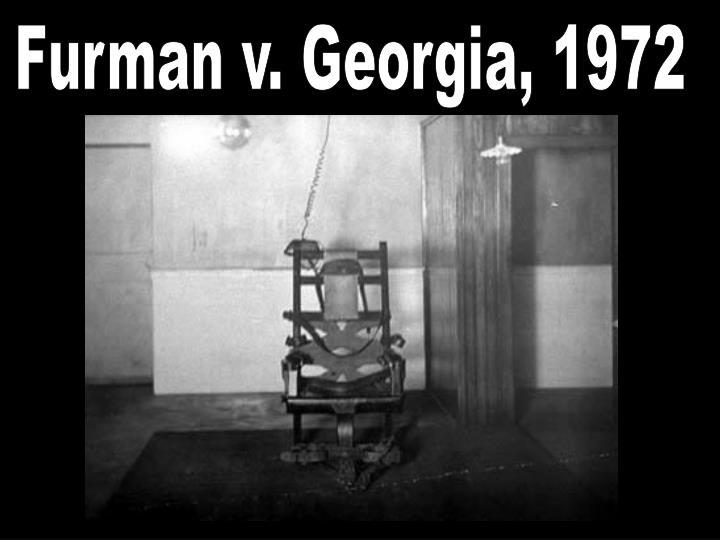 Essays on case furman v georgia