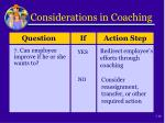 considerations in coaching5