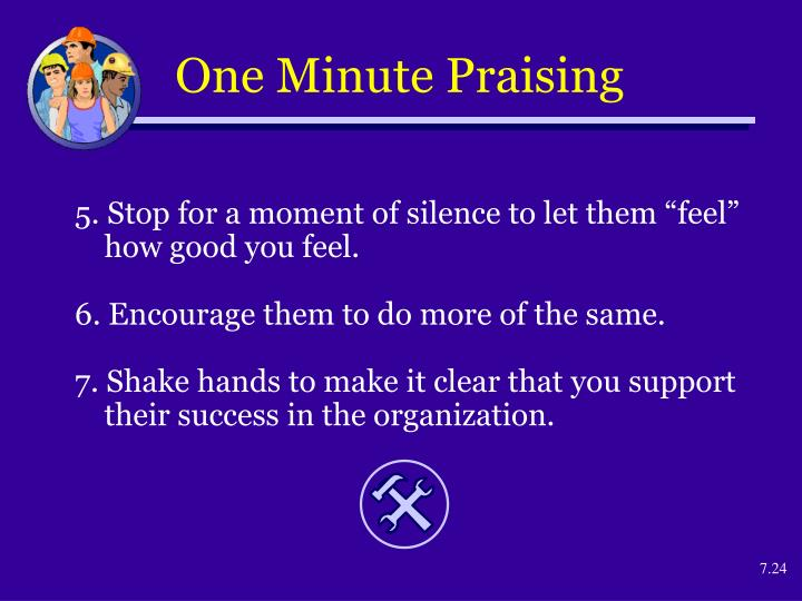 One Minute Praising