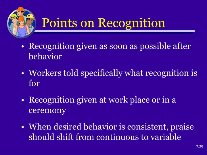 Points on Recognition