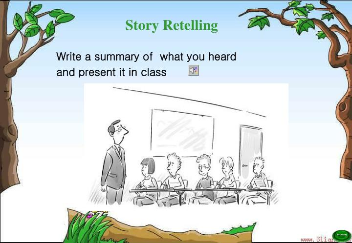 Write a summary of  what you heard
