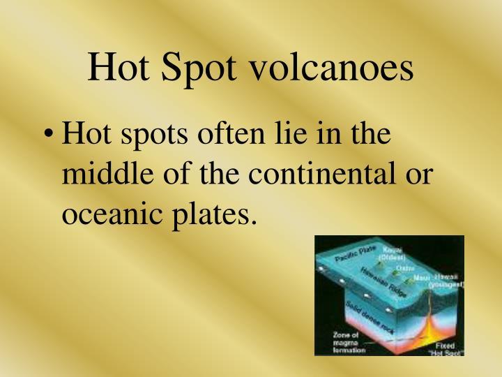Hot Spot volcanoes