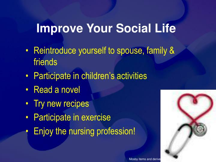 Improve Your Social Life