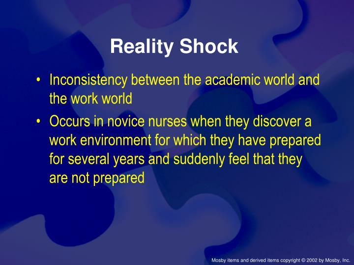 Reality Shock