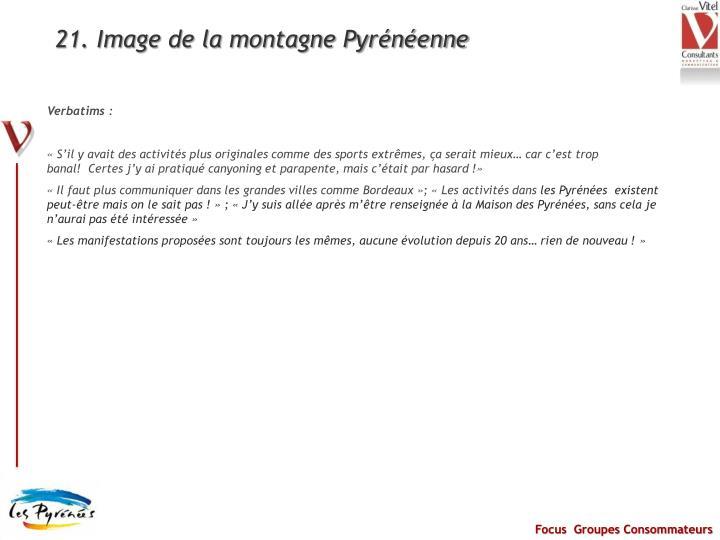 21. Image de la montagne Pyrénéenne