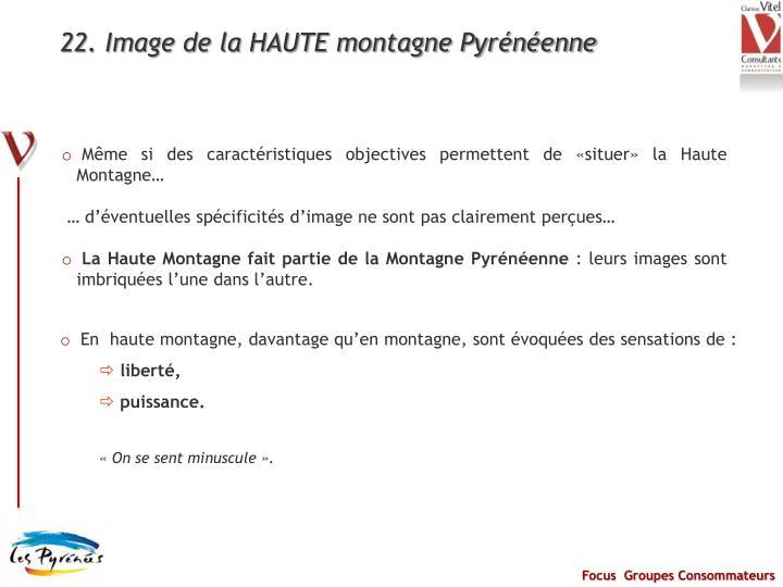 22. Image de la HAUTE montagne Pyrénéenne