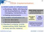 ogsa implementation