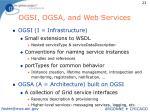 ogsi ogsa and web services