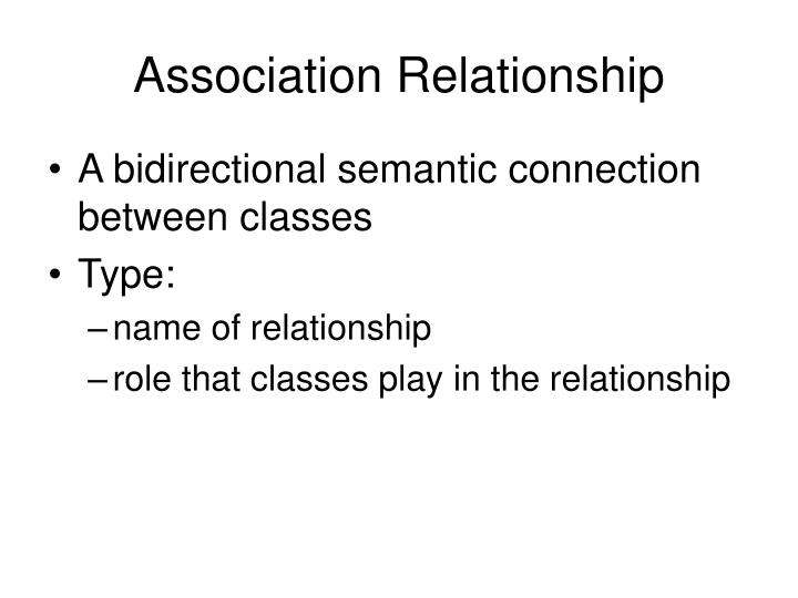 Association Relationship
