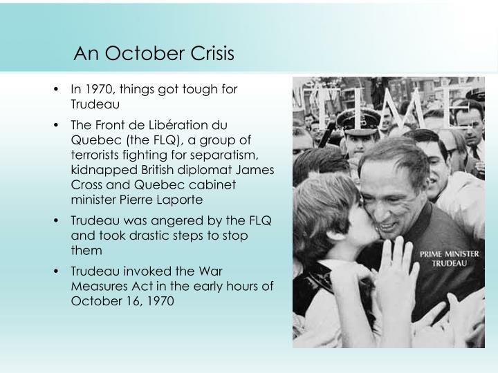 An October Crisis