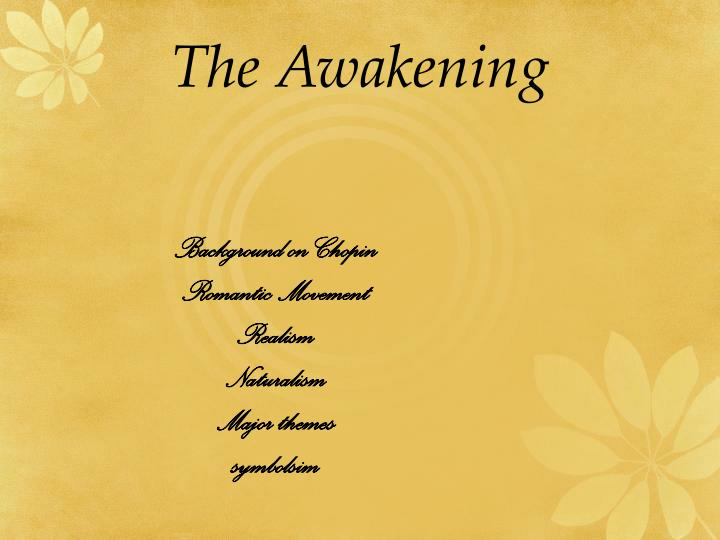 Symbolism In The Awakening Coursework Academic Writing Service