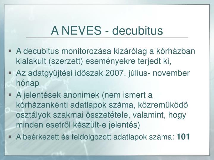 A NEVES - decubitus