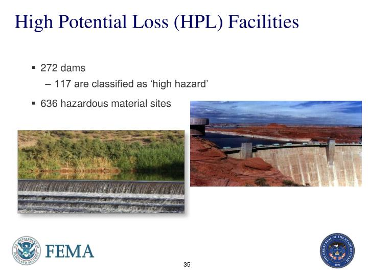 High Potential Loss (HPL) Facilities