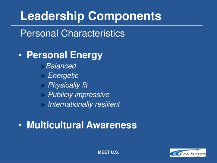 Leadership Components