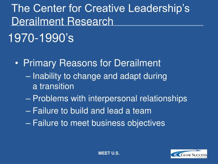 The Center for Creative Leadership's