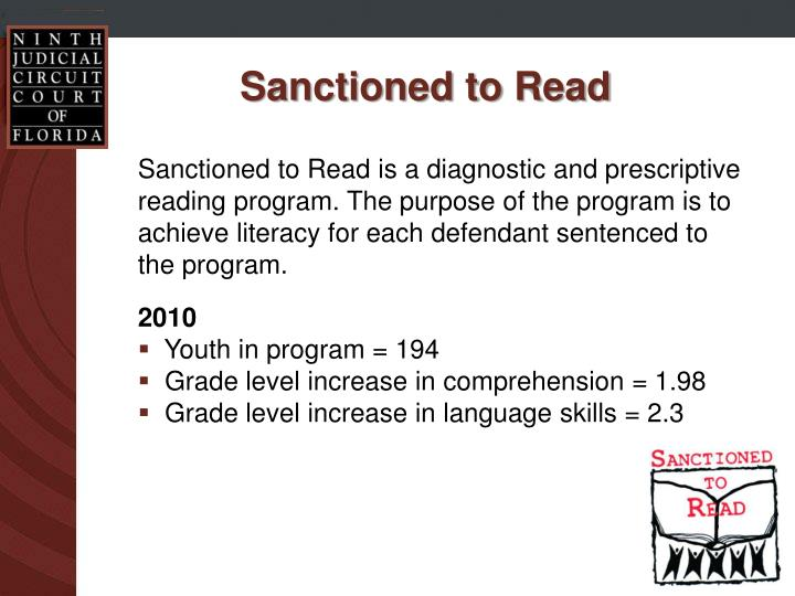 Sanctioned to Read