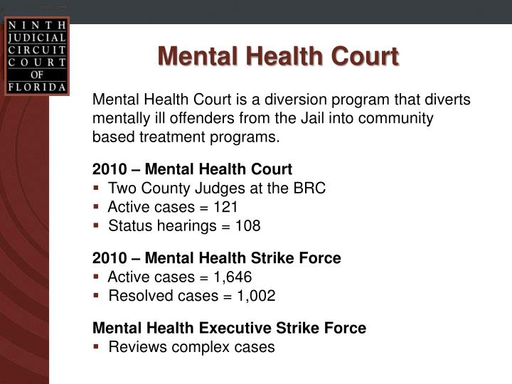 Mental Health Court