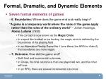 formal dramatic and dynamic elements3