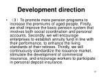 development direction2