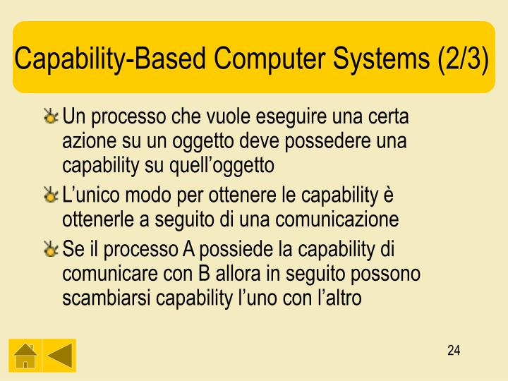 Capability-Based Computer Systems (2/3)