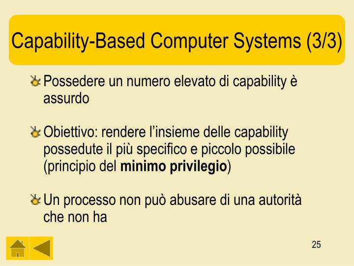 Capability-Based Computer Systems (3/3)