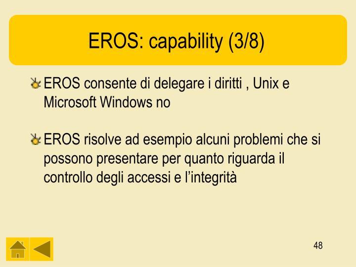 EROS: capability (3/8)