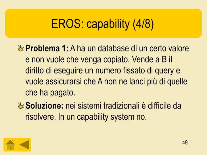 EROS: capability (4/8)