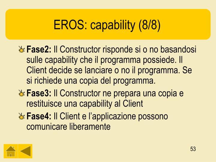EROS: capability (8/8)