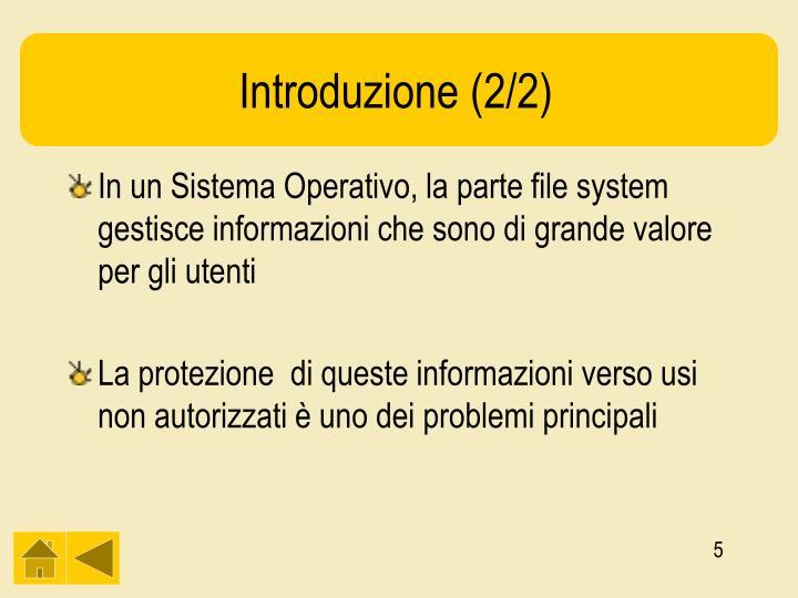 Introduzione (2/2)