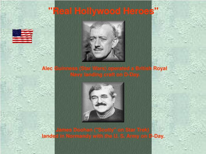 """Real Hollywood Heroes"""