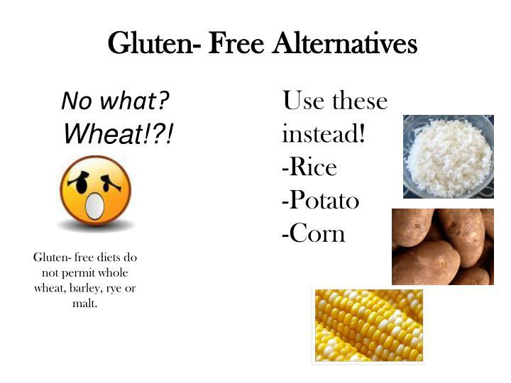 Gluten- Free Alternatives