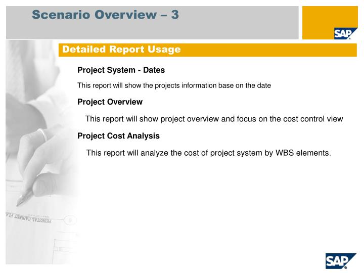 Project System - Dates