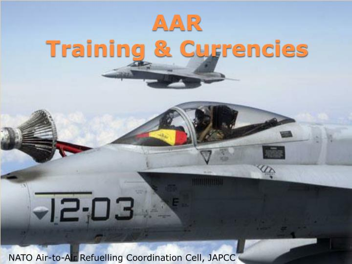 Aar training currencies