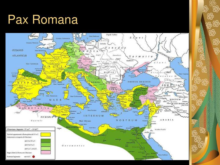 pax romana History isn't all bloodshed in this brainpop movie, tim and moby introduce you to the historical period called the pax romana you'll learn what the phrase.