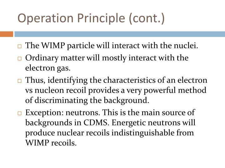 Operation Principle (cont.)