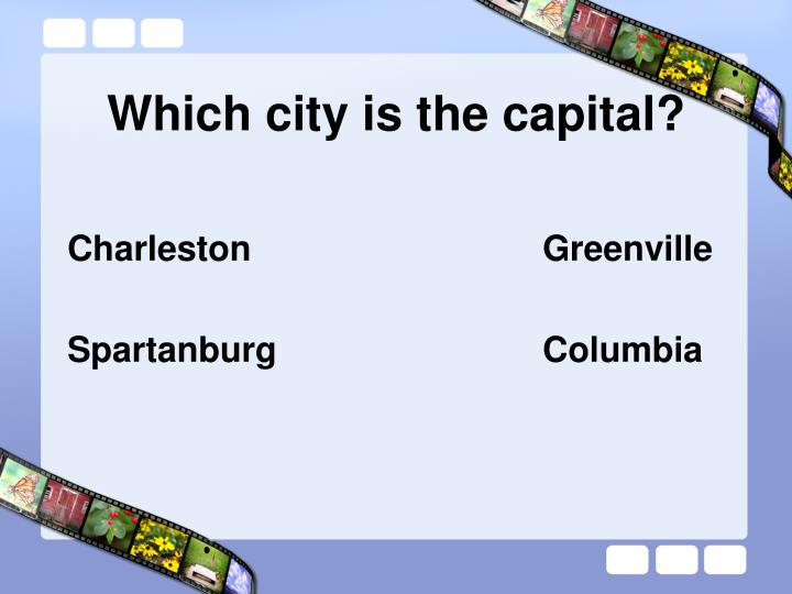 Which city is the capital