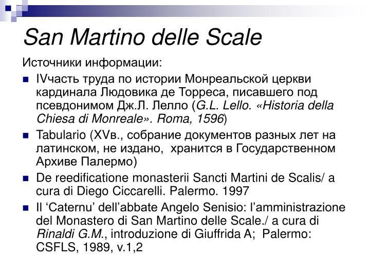 San Martino delle Scale